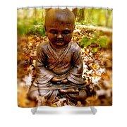 Fall Meditation Shower Curtain