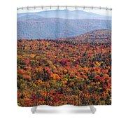 Fall Mountains #3 Shower Curtain