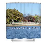Fall Nature Shower Curtain