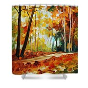 Fall New Shower Curtain