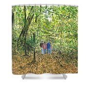 Fall Nymphs - IIi Shower Curtain