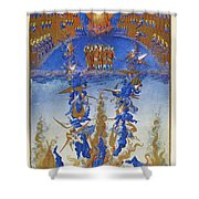 Fall Of Rebel Angels Shower Curtain