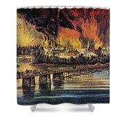 Fall Of Richmond, 1865 Shower Curtain
