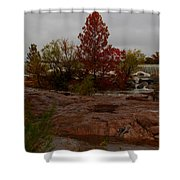 Fall On The Llano Shower Curtain