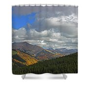 Fall On The Pass Shower Curtain