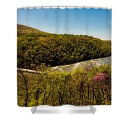 Fall On The Shenandoah River - West Virginia Shower Curtain