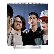 Fall Out Boy Shower Curtain