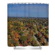 Fall Over Richmond Shower Curtain