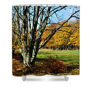 Fall Pasture Shower Curtain