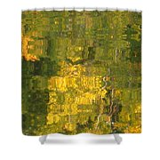 Fall Reflections 2 On Jamaica Pond Shower Curtain
