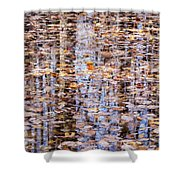 Fall Reflections #1277-4030 Shower Curtain