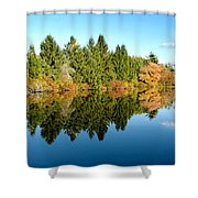 Fall Reflections II Shower Curtain