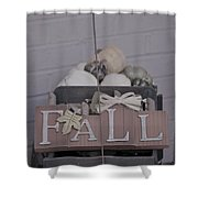 Fall S/c Shower Curtain