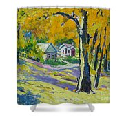 Fall Scenery Shower Curtain