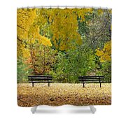 Fall Series 12 Shower Curtain