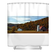 Fall Southeast Ohio Shower Curtain
