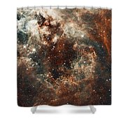 Fall Storm Shower Curtain