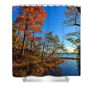 Fall Trails Shower Curtain