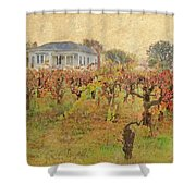 Fall Vines Shower Curtain