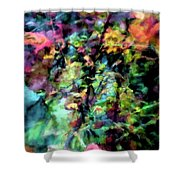 Fall Watercolor Shower Curtain