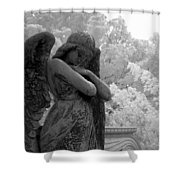 Fallen Angel Shower Curtain