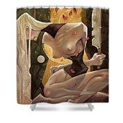 Fallen Queen II - Sorrow Shower Curtain