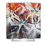 Falling Angels Shower Curtain