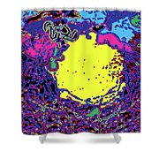 Falling Colors Shower Curtain