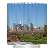 Falling For Chicago Shower Curtain