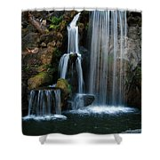 Falling For You Shower Curtain by Clayton Bruster