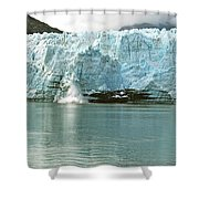 Falling Ice 8421 Shower Curtain