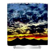 Dreaming Sisters Shower Curtain