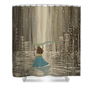 Falling Out Of Love Shower Curtain