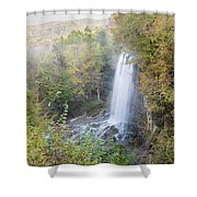 Falling Spring Falls Shower Curtain