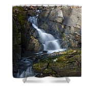 Falling Waters In February #2 Shower Curtain