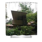 Fallingwater Exterior  Shower Curtain