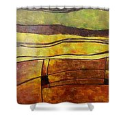 Fallow Ground Shower Curtain