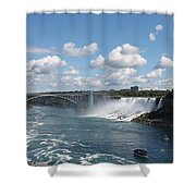 Falls- American Side  Shower Curtain