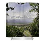 Falls Canyon Exit 2 Shower Curtain
