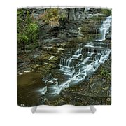 Falls Creek Gorge Trail Shower Curtain