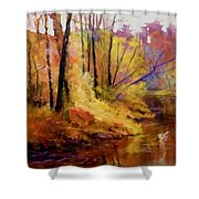 Fall's Creekside Shower Curtain