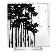 Falls Design 1 Shower Curtain