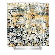 Falls Design 3 Shower Curtain by Megan Duncanson