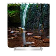Falls In Bluff Country Shower Curtain