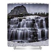 Falls In Glacier 1 Shower Curtain