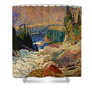 Falls - Montreal River Shower Curtain
