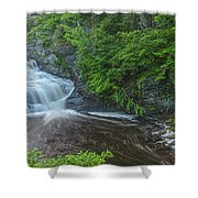 Falls Of Mystery Shower Curtain