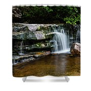Falls Of Peterskill In Spring I - 2018 Shower Curtain