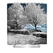 Falls Of The Ohio State Park Shower Curtain