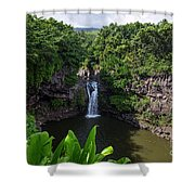 Falls Seven Sacrad Pools 2 Shower Curtain